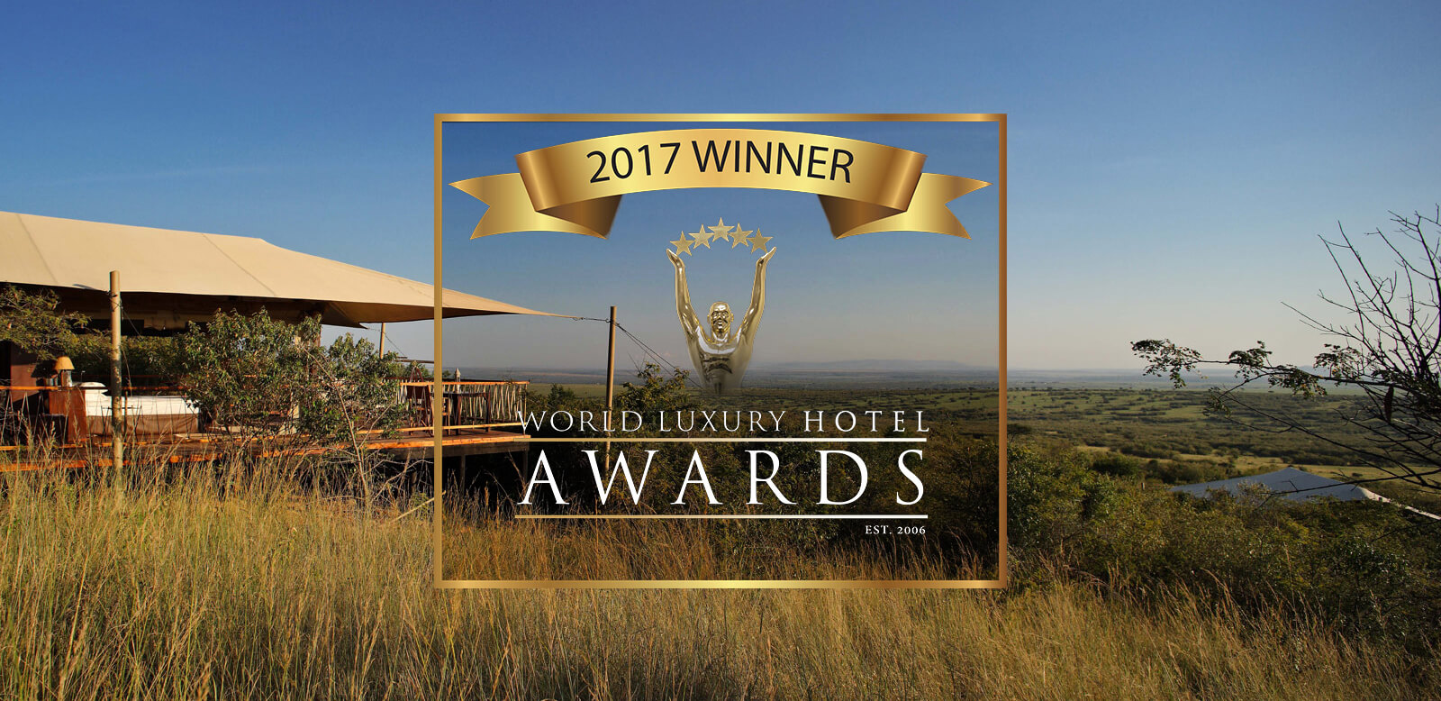 Mara bushtops gewinnt world luxury hotel award 2017 for Luxury hotel awards